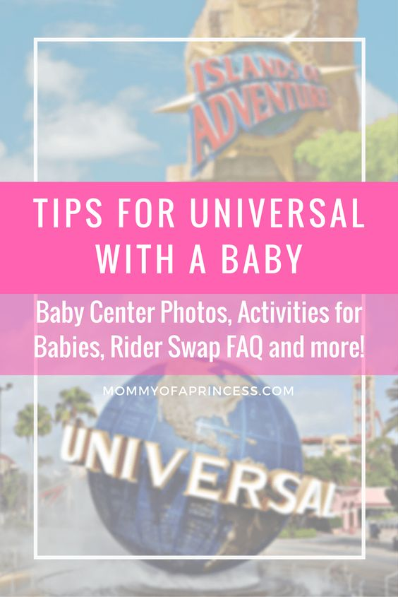 Tips for Universal Orlando with Baby