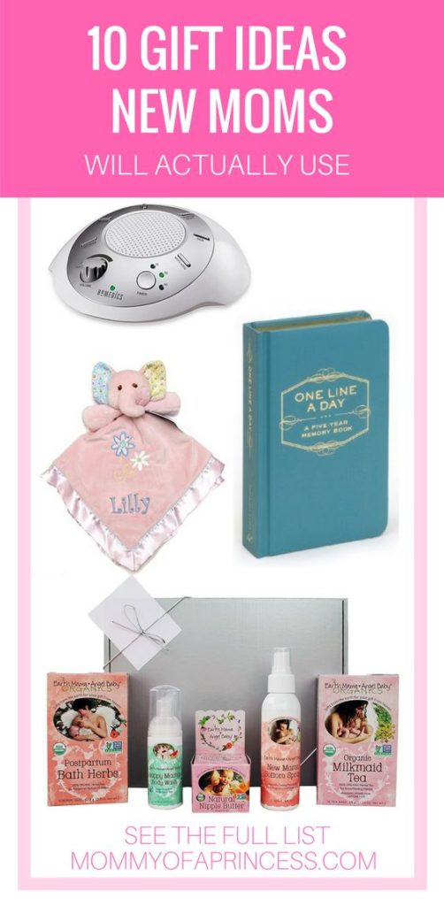 Gift Ideas New Moms will actually use
