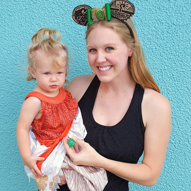 Moana Mickey Ears DIY