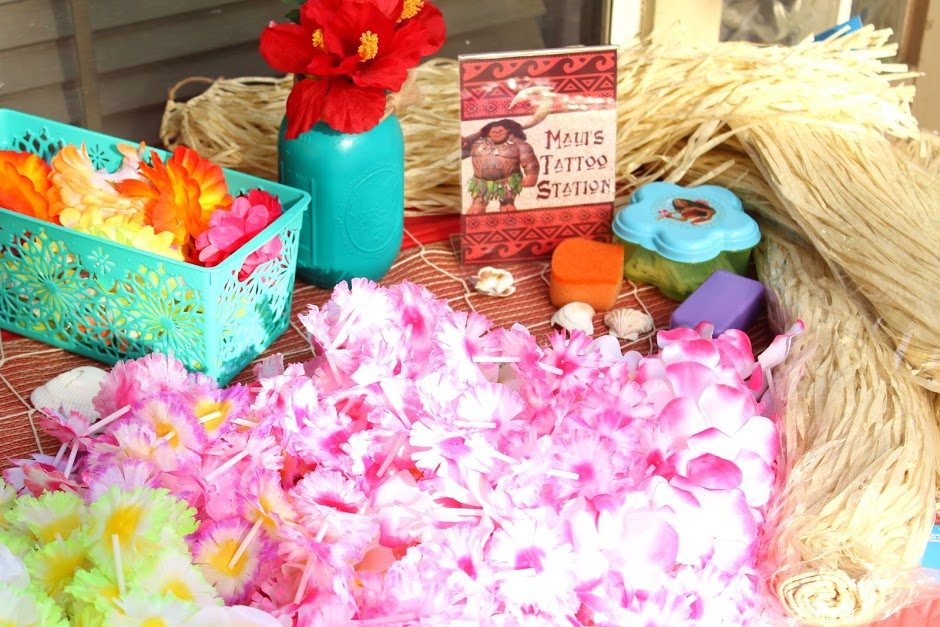 Moana party ideas for girl