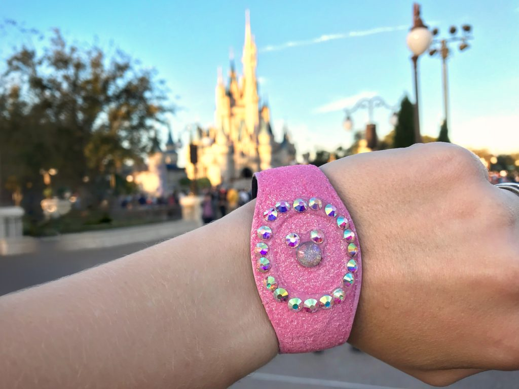 DIY Sparkly Magic Band Disney World