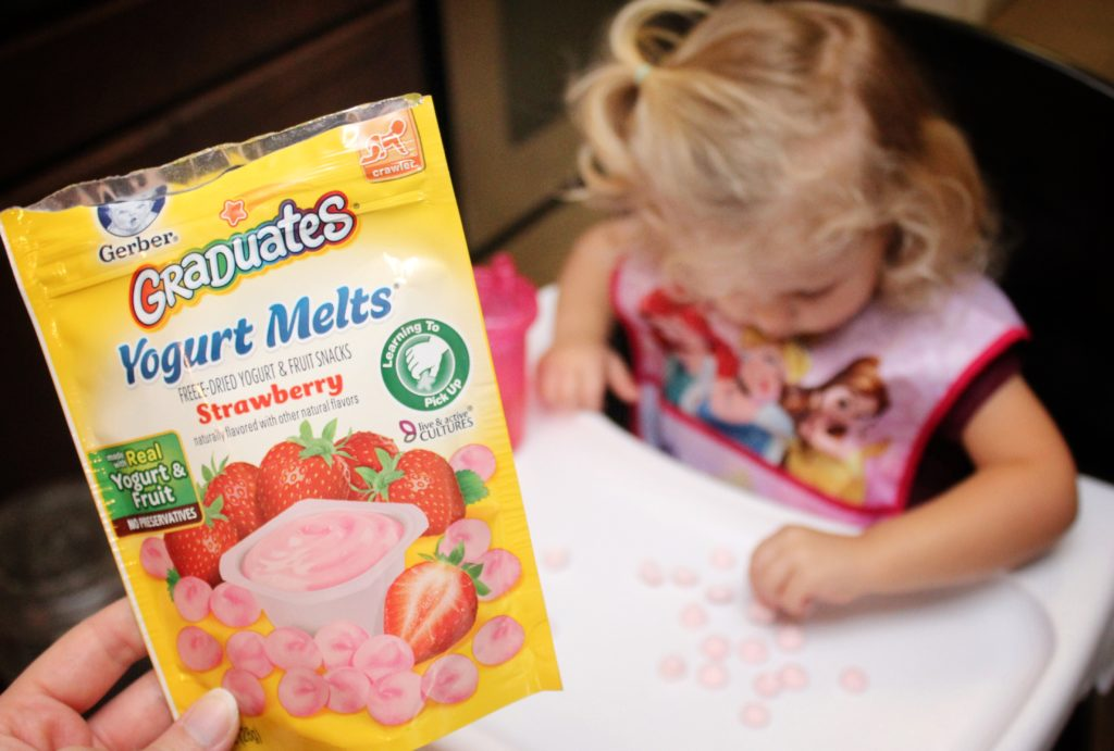 Baby Essentials Gerber Yogurt Melts