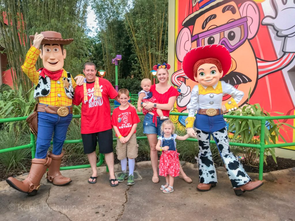 Toy Story Land Meeting Jessie and Woody