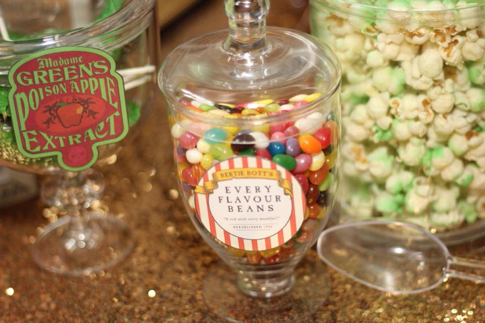 picture regarding Bertie Botts Every Flavor Beans Printable named Girly Harry Potter Birthday Celebration Strategies + No cost Celebration Printables