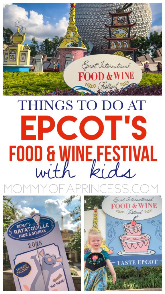 Things to do at 2018 Epcot Food and Wine Festival with kids