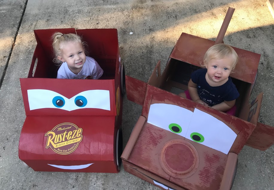 Cars DIY Halloween Costume