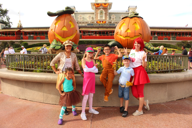 Wreck it Ralph Family Costume from Raising Whasians