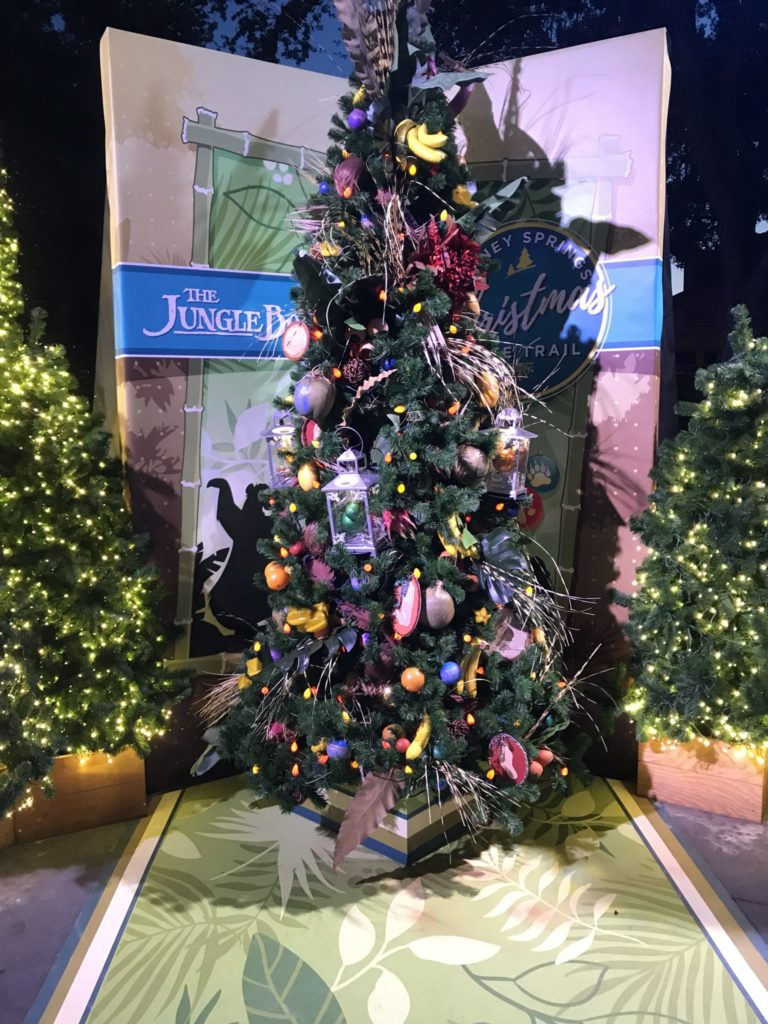 The Jungle Book Disney Christmas Tree Trail at Disney Springs