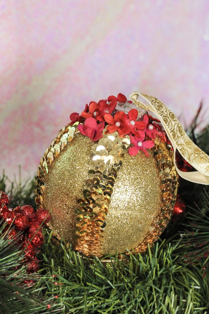 DIY Belle Beauty and the Beas t Christmas Ornament