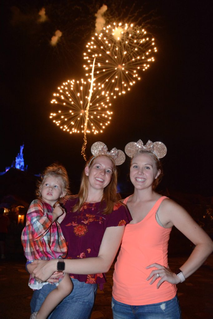 Best Place to View Disney Fireworks at Magic Kingdom
