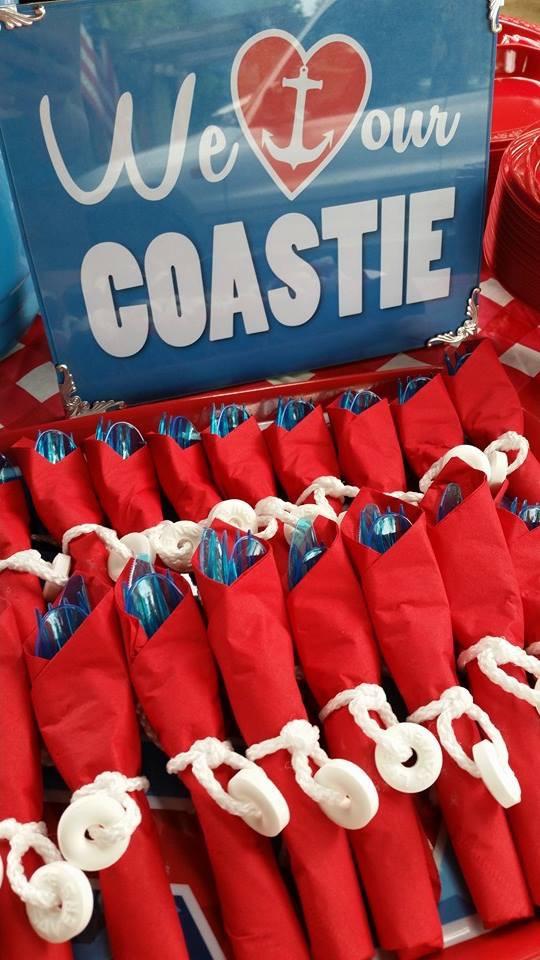 Coast Guard Send Off Party