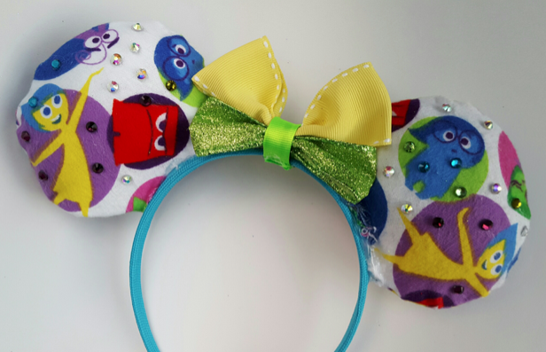 Inside Out DIY Mickey Ears