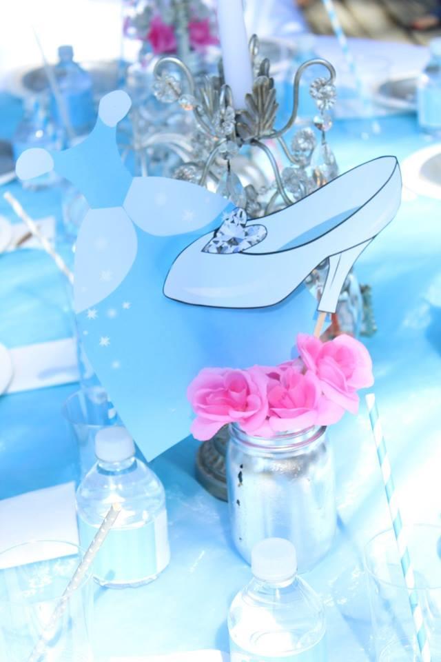 Cinderella Birthday Party Ideas PLUS FREE Printables