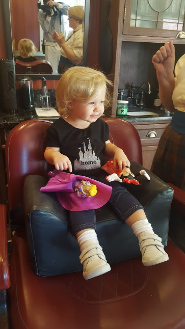 baby girl first haircut disney