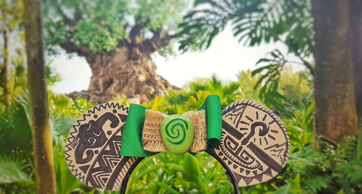 DIY Moana Maui Mickey Ears