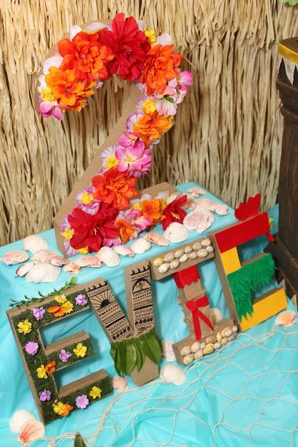 DIY Moana Birthday Party Decorations