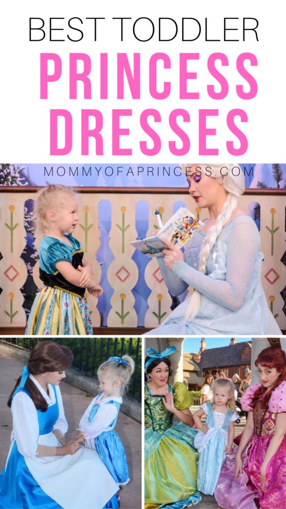 best princess dress for toddlers & toddler princess dress up