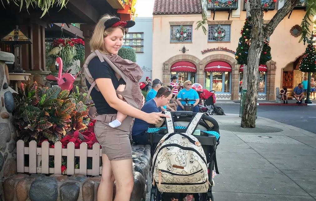 Disney Diaper Bag BackPack Petunia Pickle Bottom