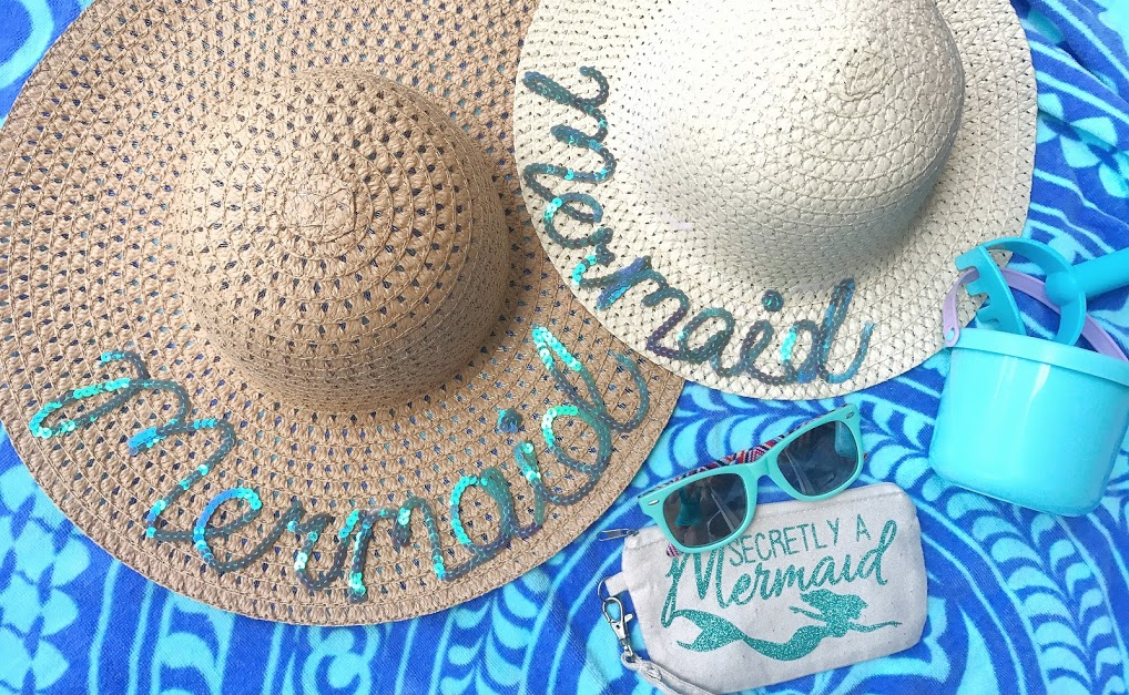DIY Summer Mermaid Hats