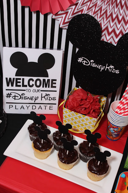 DIY Mickey Mouse Party Ideas with #DisneyKids