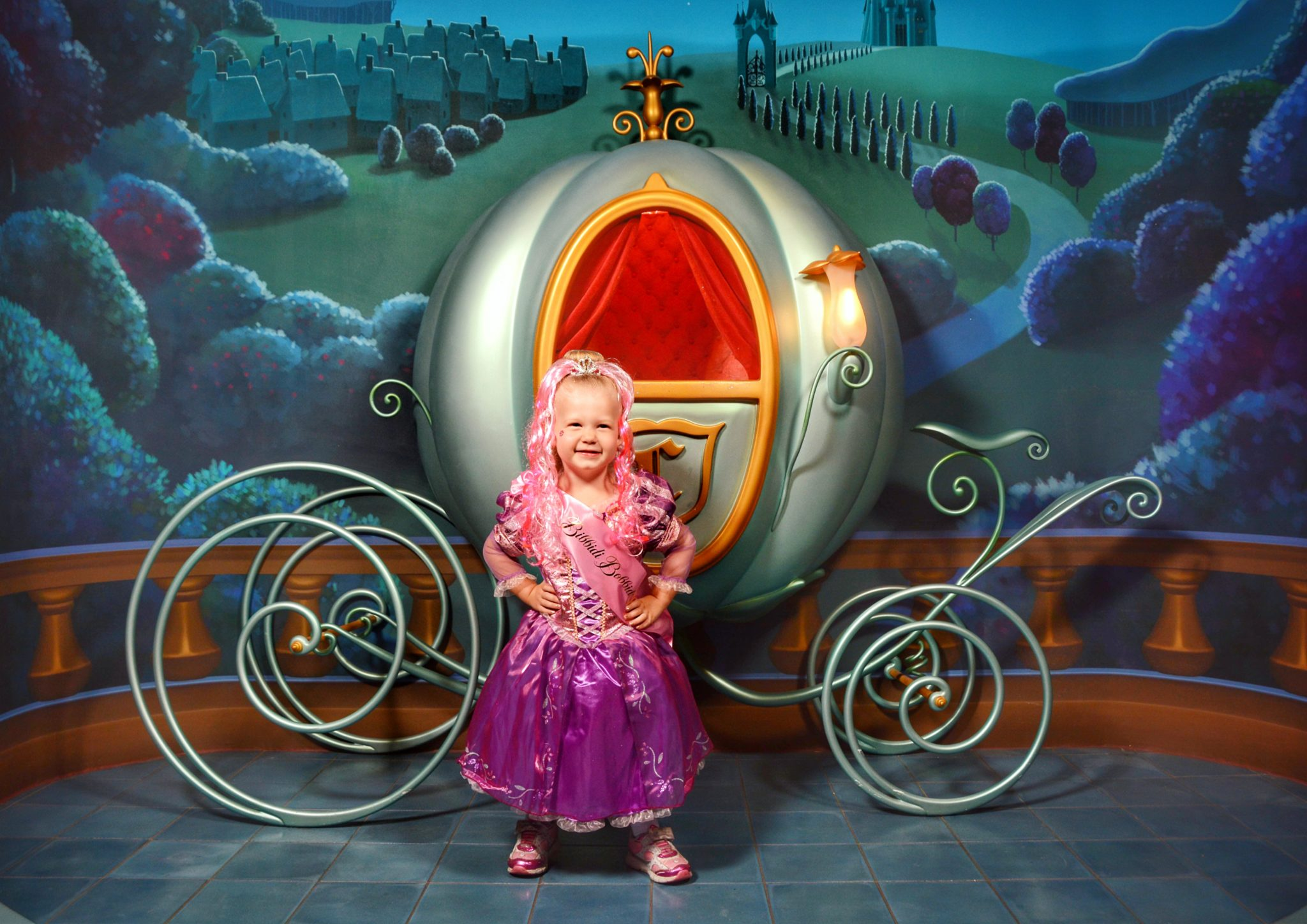 Bring Preschooler to Disney World at Bibbidi Bobbidi Boutique