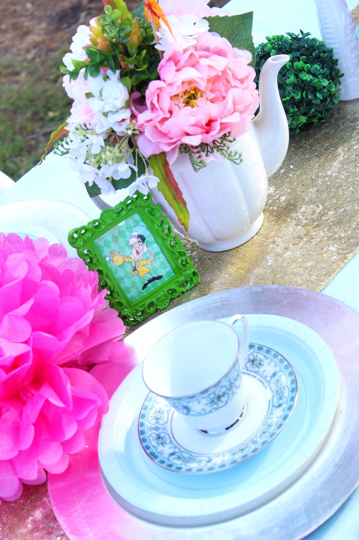 Onderland Tea Party First Birthday Ideas