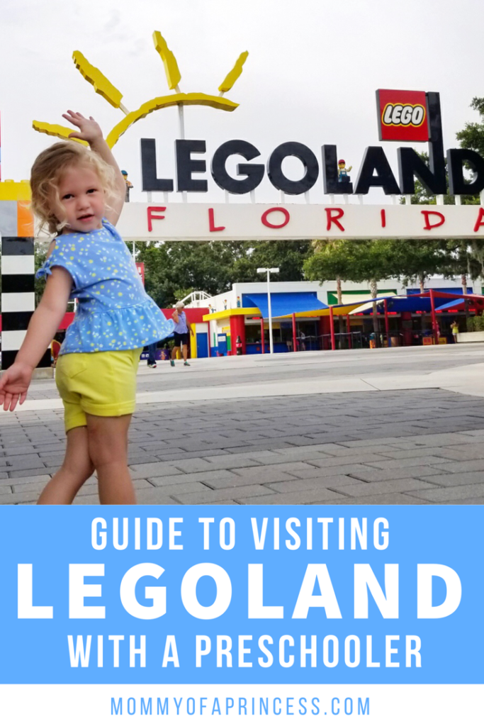 Visiting Legoland with young kids