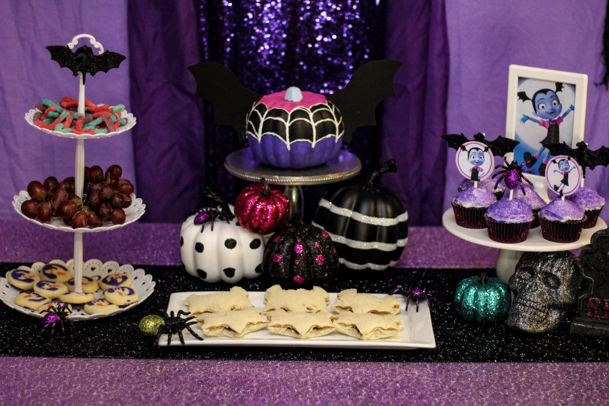 Halloween Themed Birthday Party For Toddler.Vampirina Party Ideas Free Printables For Birthday Or Halloween