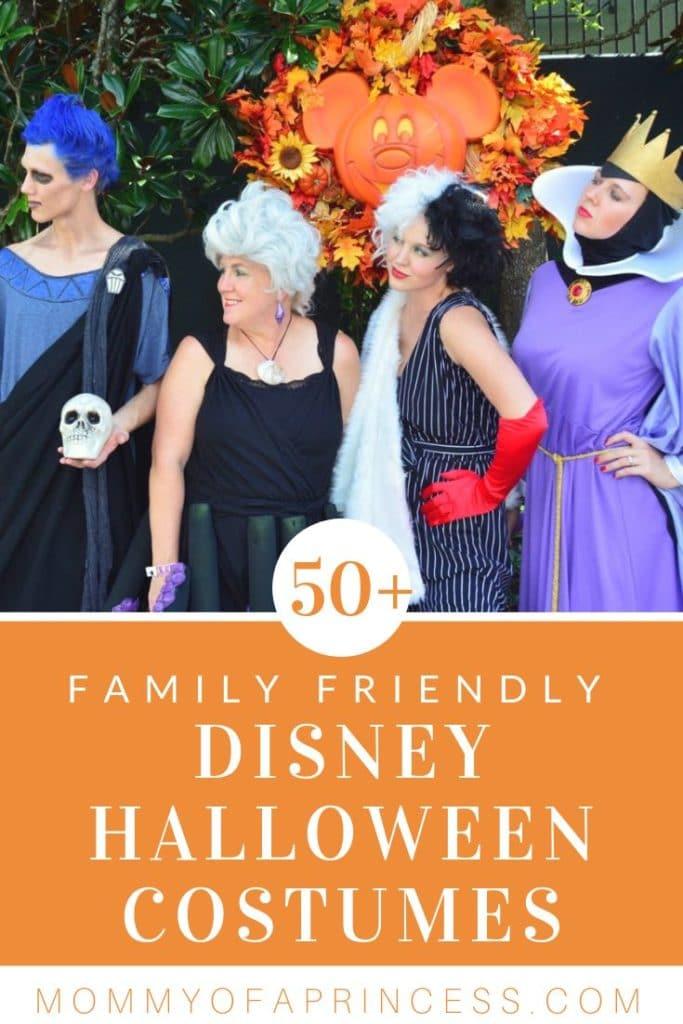 50+ Disney Family Halloween Costumes