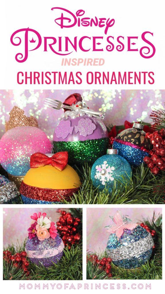 Easy Diy Disney Ornament For Christmas Inspired By Disney Princesses