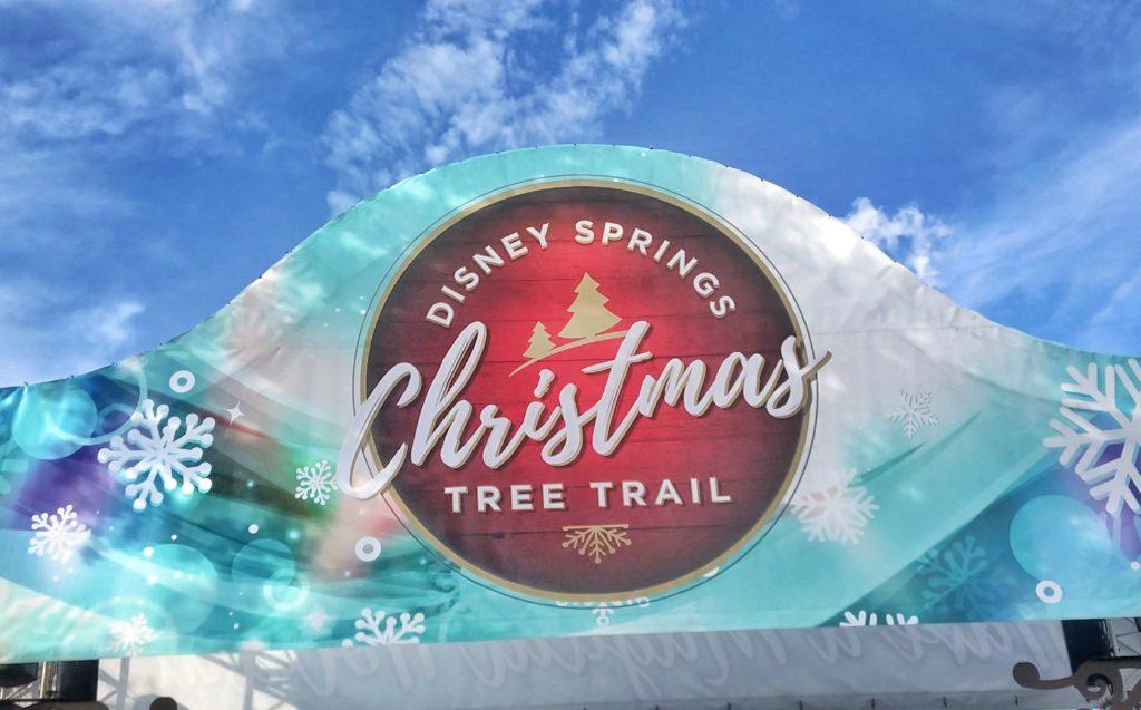 Disney Christmas Tree Trail at #DisneySprings