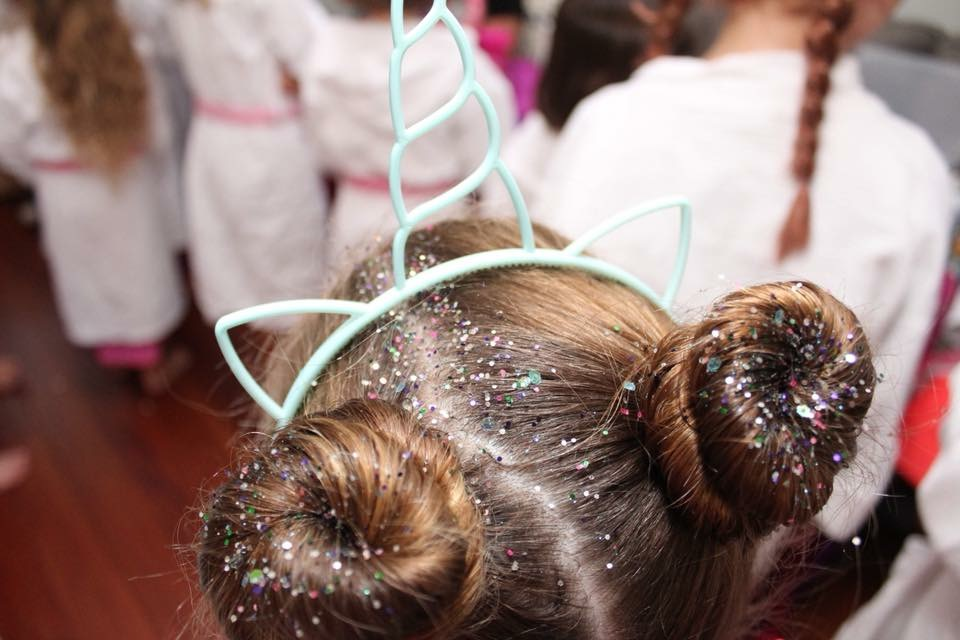 Unicorn Hair for birthday party