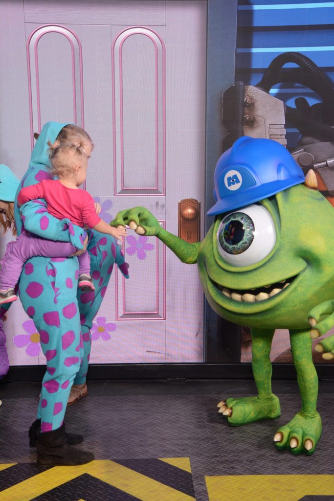 Meet Monsters Inc Characters at Disney