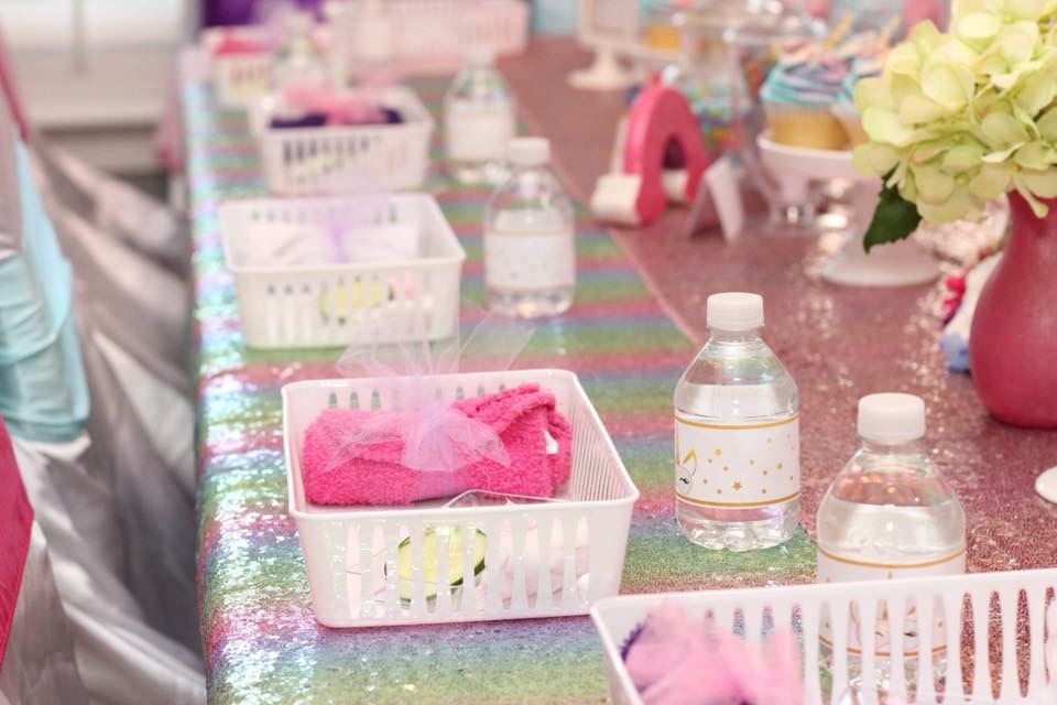 Unicorn Spa Party Ideas