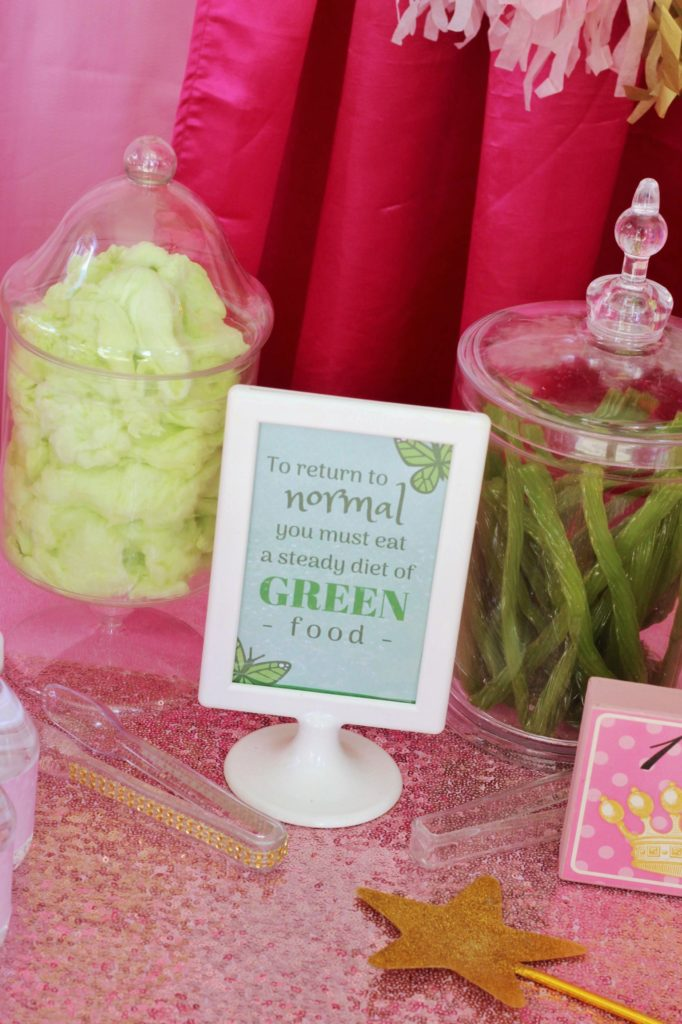 Pinkalicious Green Things Food Ideas