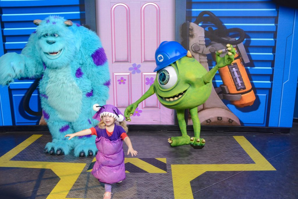 Meet Monsters Inc Characters at Disney #NowMoreThanEver #HWS30