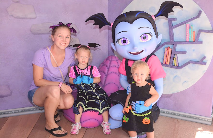 Is Vampirina at Disney World? She sure is!