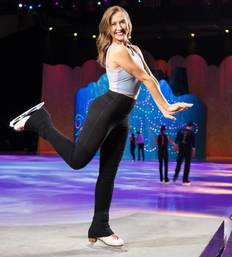 Emily Pestka Host of Disney On Ice: Dare to Dream