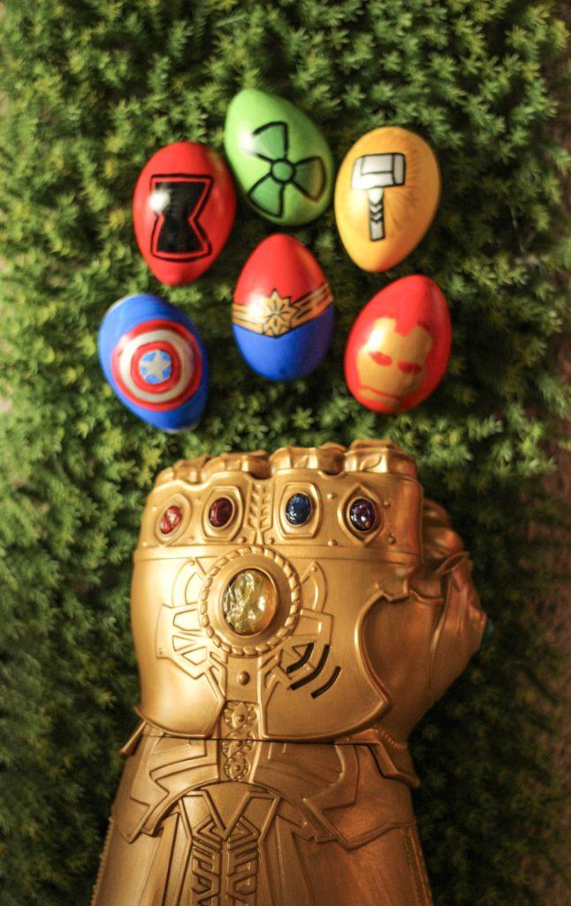 DIY Avengers Endgame Easter Eggs Craft Tutorial