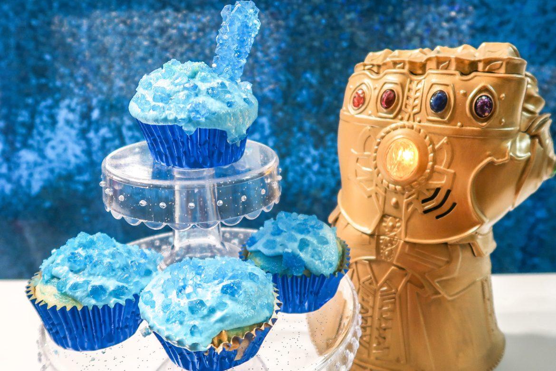Avengers Tesseract Cupcakes