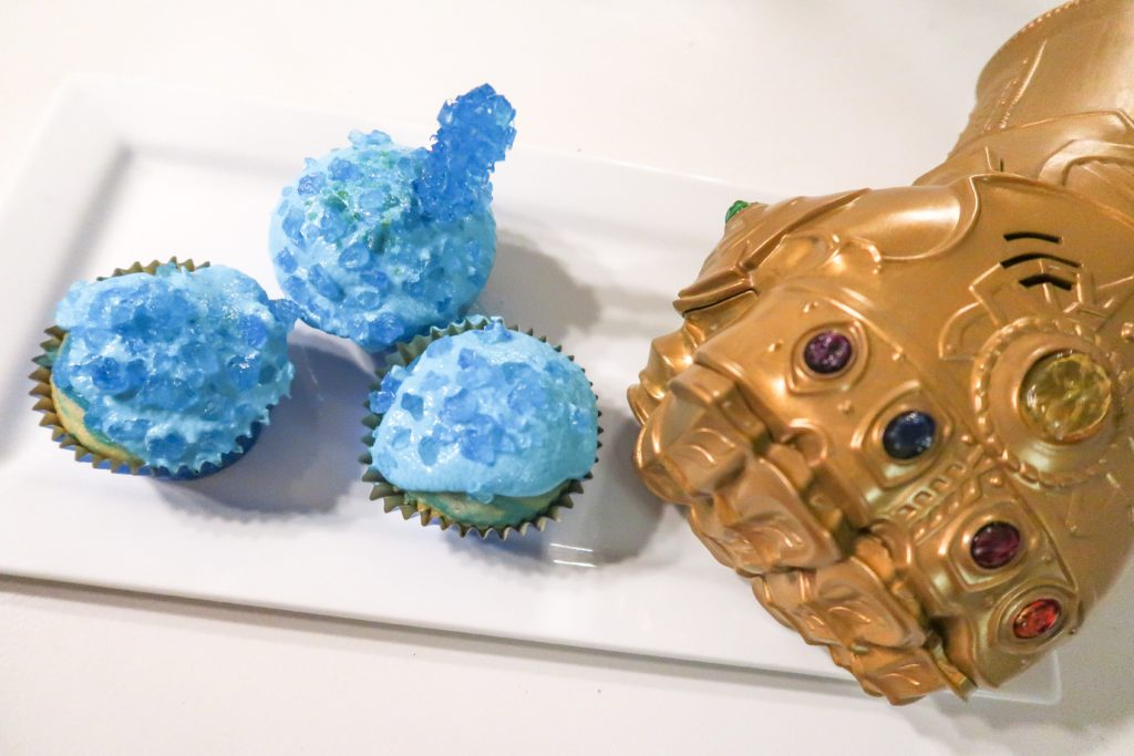 Easy to Make Tesseract Cupcakes