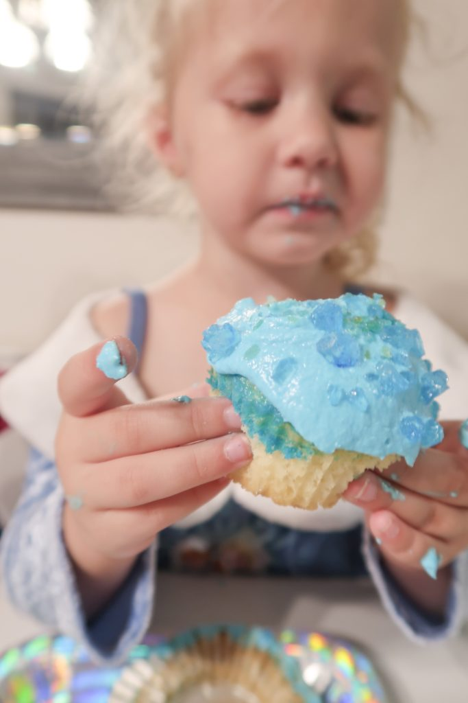 Tesseract Cupcakes for kids