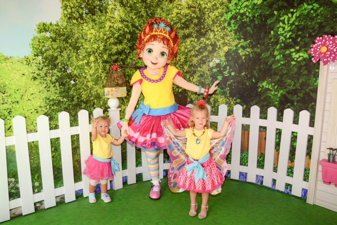 Where to Meet Fancy Nancy at Disney World