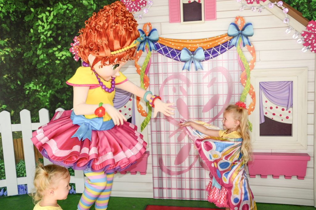 Fancy Nancy at Disney World
