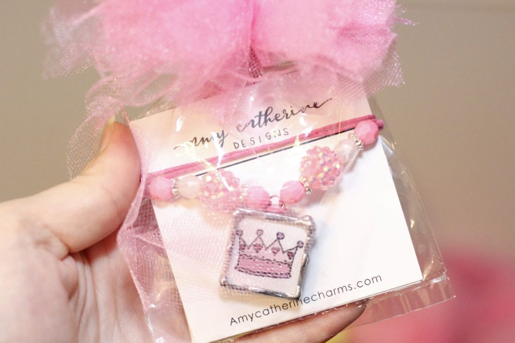 Disney Princess Party favor necklace from Amy Catherine Designs