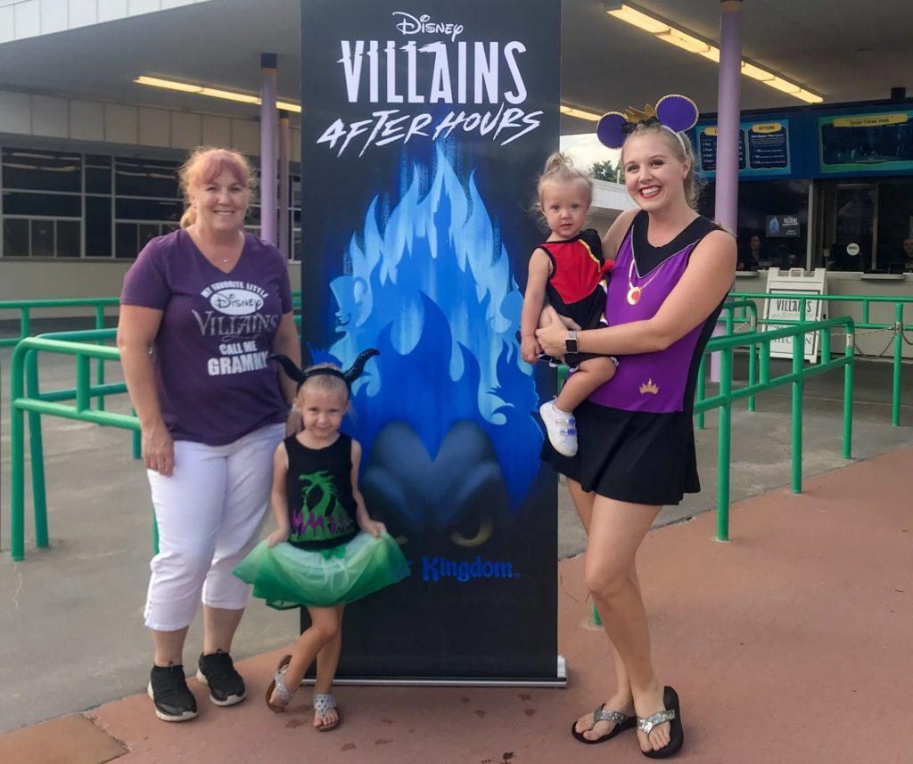 Villains Disneybound for DIsney Villains After Hours
