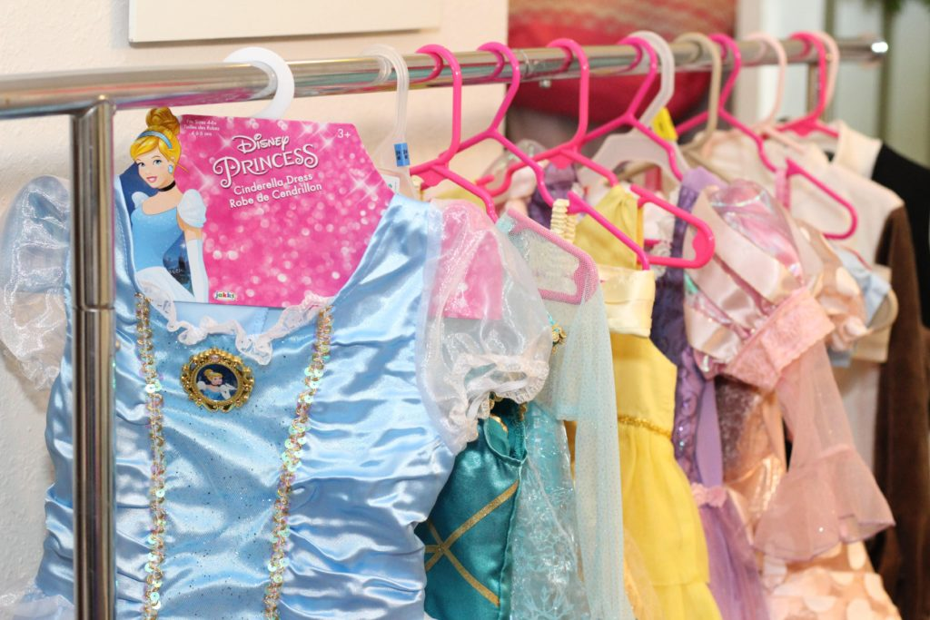 Disney Princess Party Dress provided  by JakksPacific