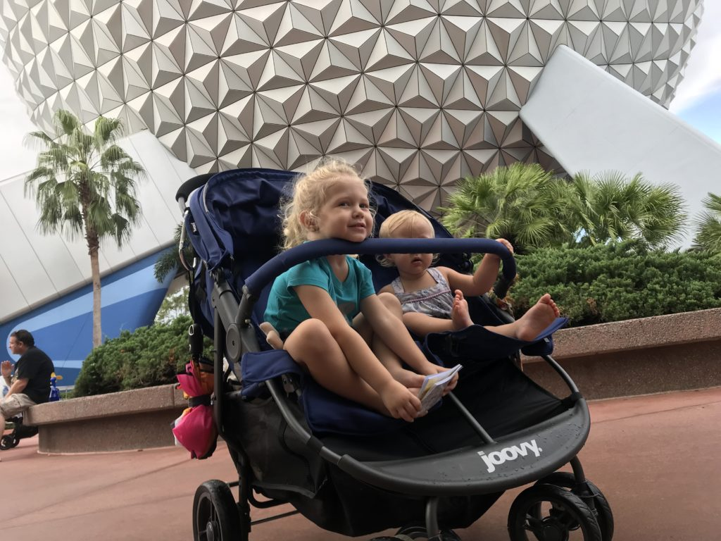 Stroller Tips with Toddlers at Disney World