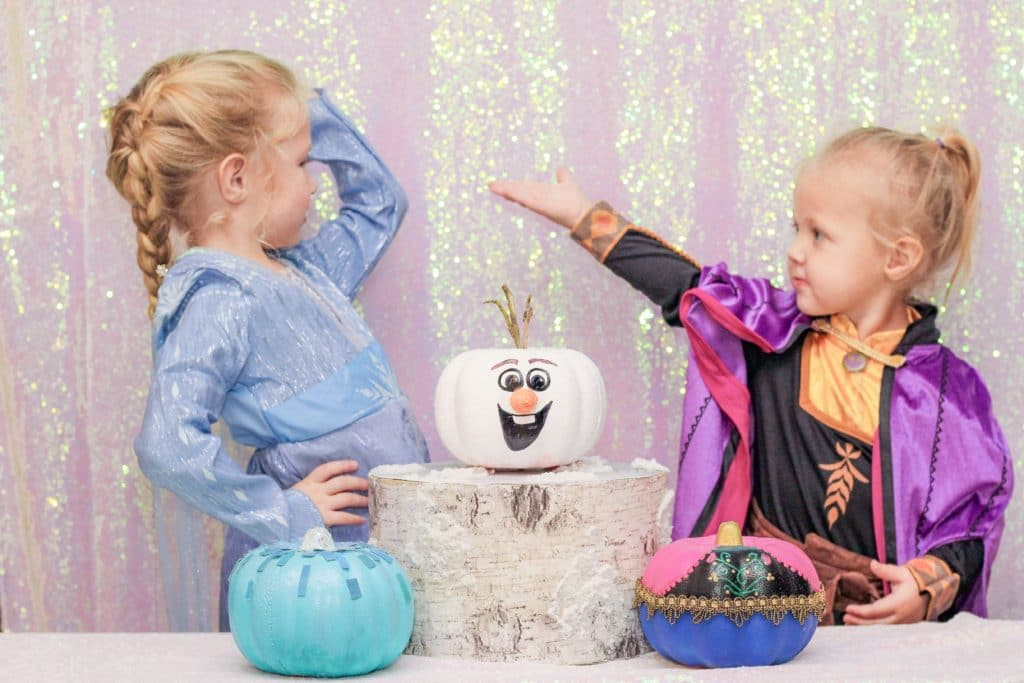 DIY Frozen Pumpkin Painting Ideas