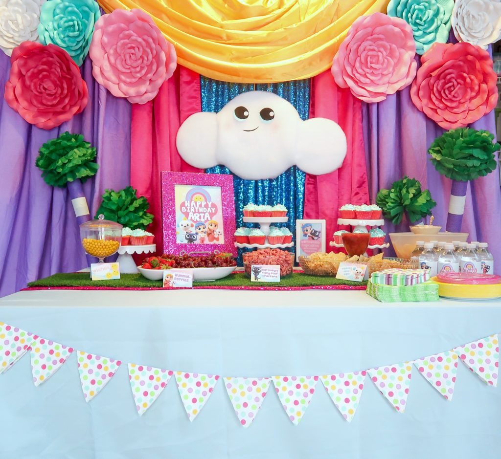 True and the Rainbow Kingdom Birthday Party Ideas & Free Printables